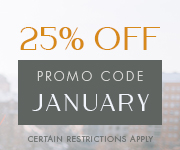 Save with promo code JANUARY